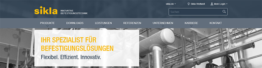 Header Kundenlogin